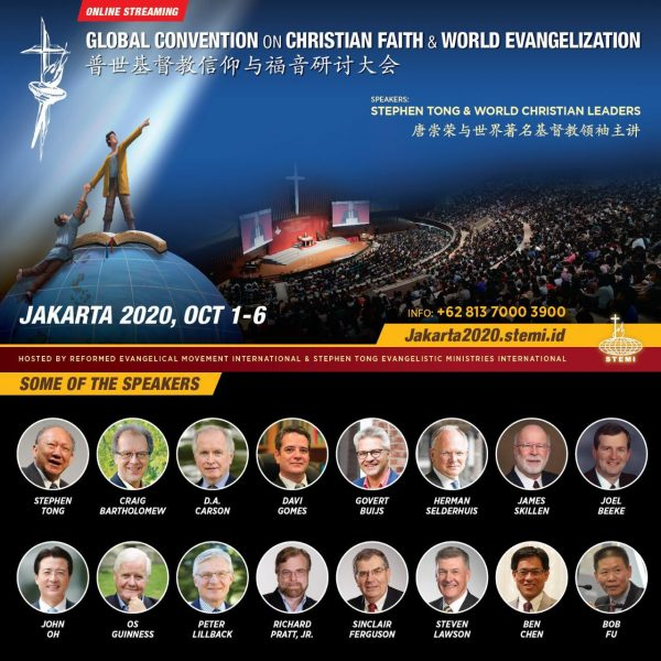 Jakarta 2020 – Global Convention on Christian Faith and World Evangelization (online streaming)