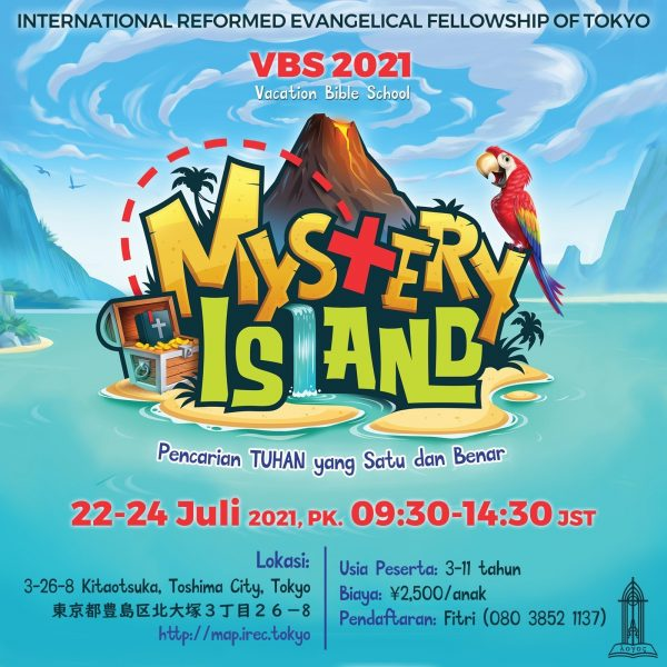 Vacation Bible School 2021: Mystery Island