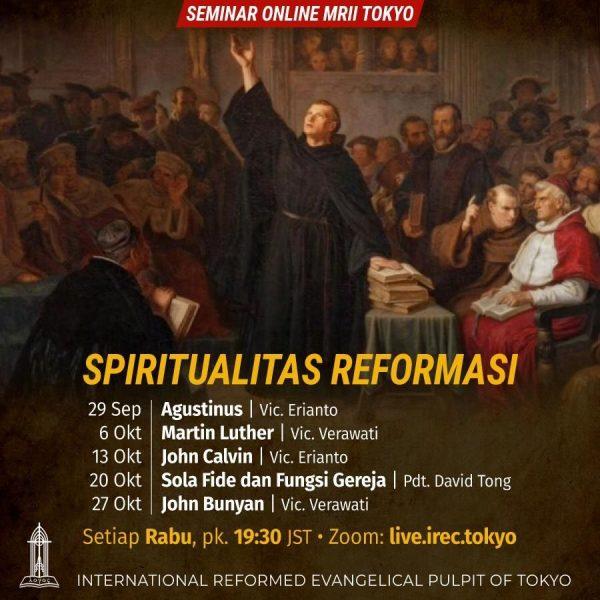 Seminar Online: SPIRITUALITAS REFORMASI